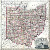 State - Railroad, Jackson County 1875